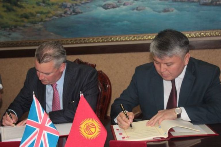 Ibc News Uk And Kyrgyzstan Sign Double Taxation Agreement